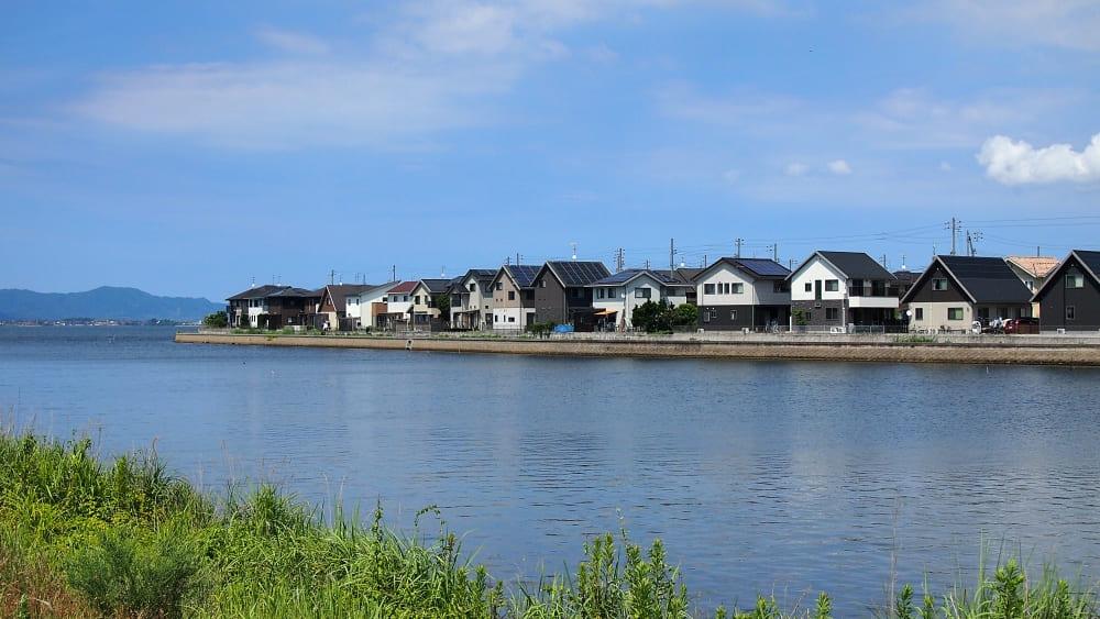 【市の原川河口】中海シーバスポイントマップ【松江南部エリア】