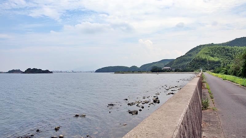 【恵乃島堤防】中海シーバスポイントマップ【安来エリア】