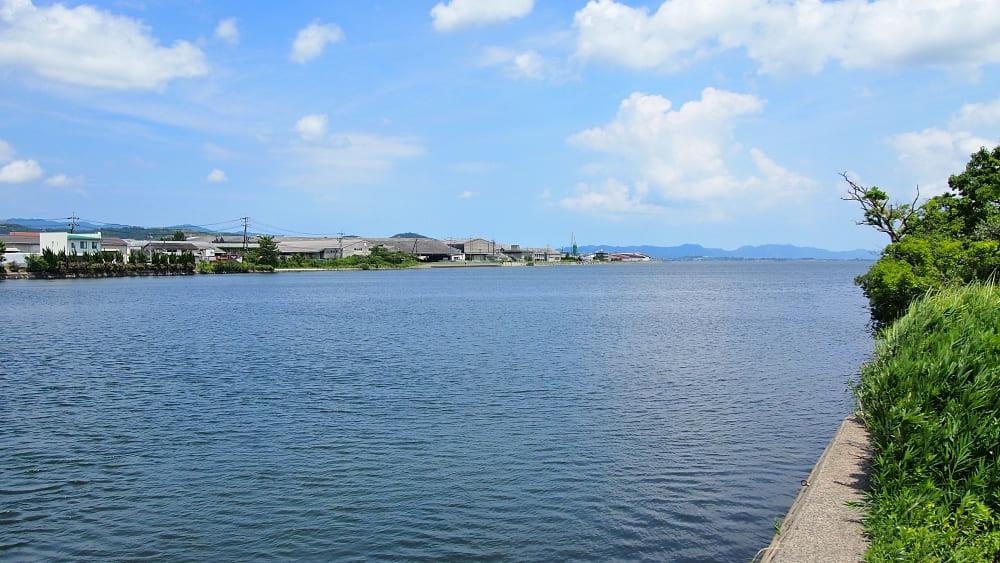 【意宇川河口】中海シーバスポイントマップ【松江南部エリア】