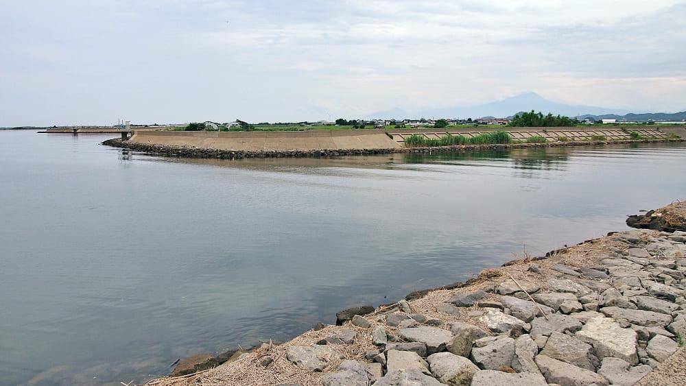 【田頼川河口】中海シーバスポイントマップ【安来エリア】