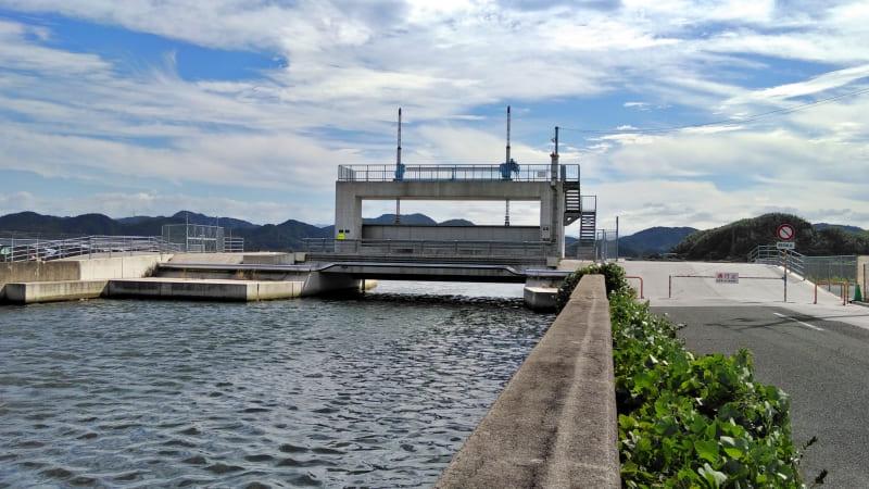 【安倍川水門前】中海シーバスポイントマップ【米子エリア】