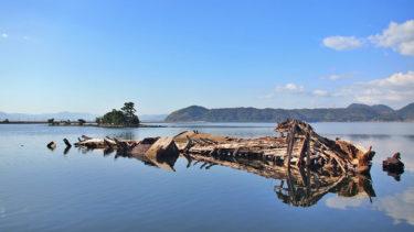 【廃船周辺】中海シーバスポイントマップ【江島・大根島エリア】