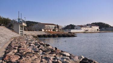 【枕木川水門周辺】中海シーバスポイントマップ【松江北部エリア】
