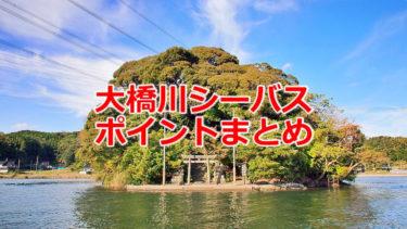 大橋川シーバスポイントマップまとめ